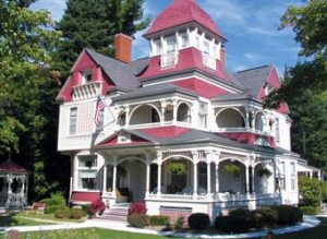 The award-winning Grand Victorian B&B Inn in Bellaire, MI. Source: Michigan.org