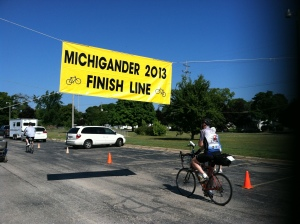 2-Day riders finish Michigander 2013 in Charlevoix, MI!