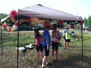 Christmas in July SAG stop between Bellaire and Gaylord.